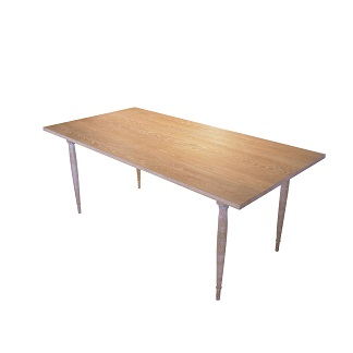 UN ダイニングテーブル(4本脚)幅1600×奥行800