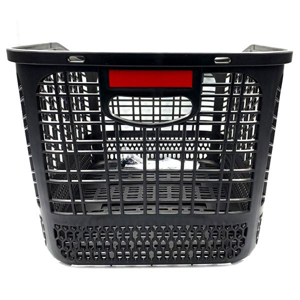 【オリジナル】大容量樹脂リアバスケット 33L ブラック