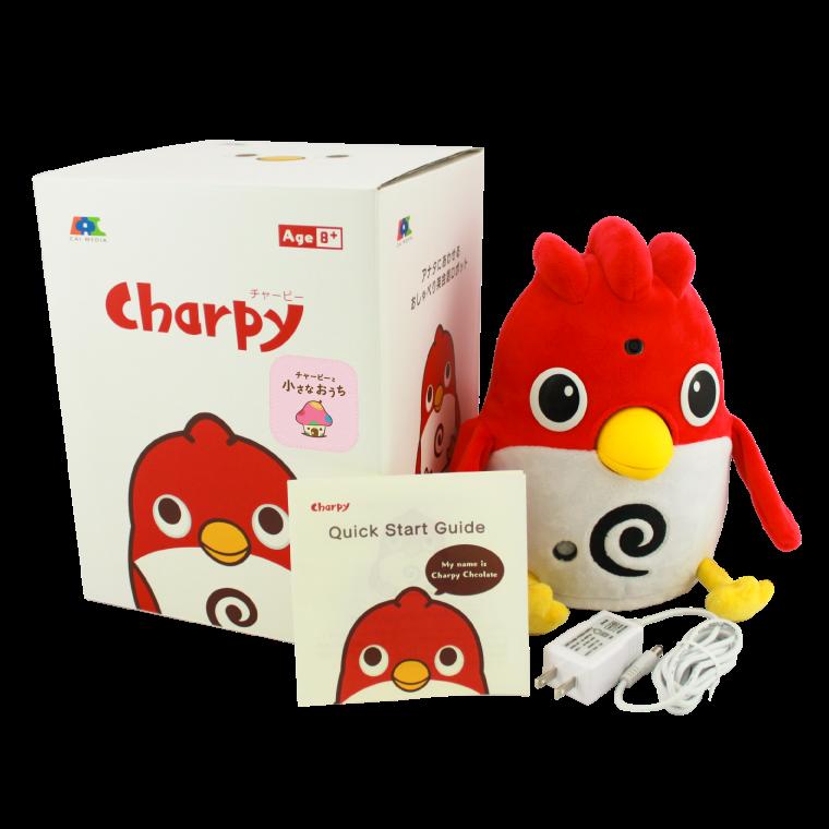 【事前予約特典付き】英会話ロボット チャーピー(チャーピーの小さなおうち)【2021年3月3日より発送】