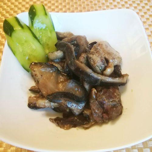 椎茸と鶏(混ぜごはんの素) 椎茸と鶏(炭火焼き) 各3個セット(※送料込み)