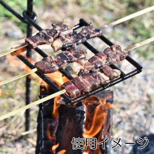 冷凍ジビエ串 イノシシ肩ロース(5本入り)