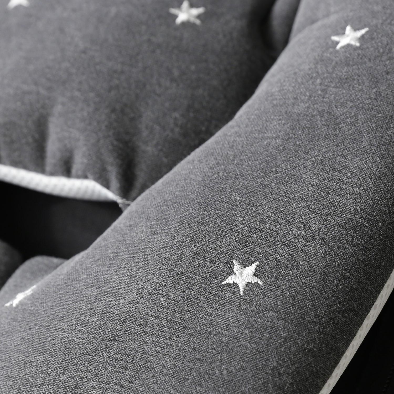 Premium Line / Embroide Star - Gray