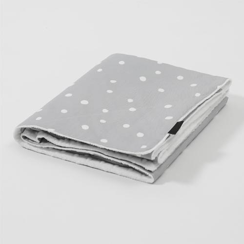 Premium Large Blanket / Mari Dot - Gray