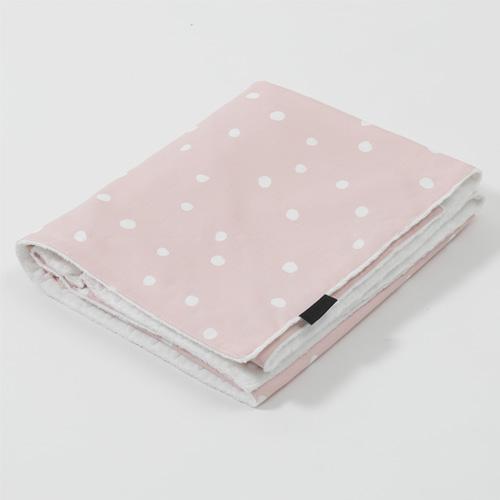 Premium Large Blanket / Mari Dot - Pink