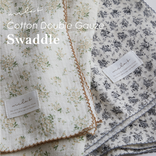 Cotton Double Gauze Swaddle