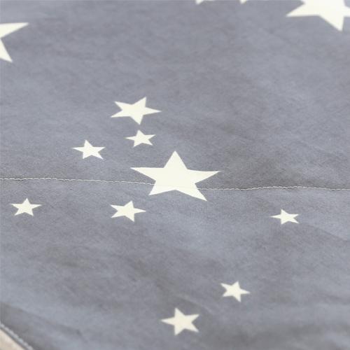 Premium Large Blanket / Star Dream - Gray
