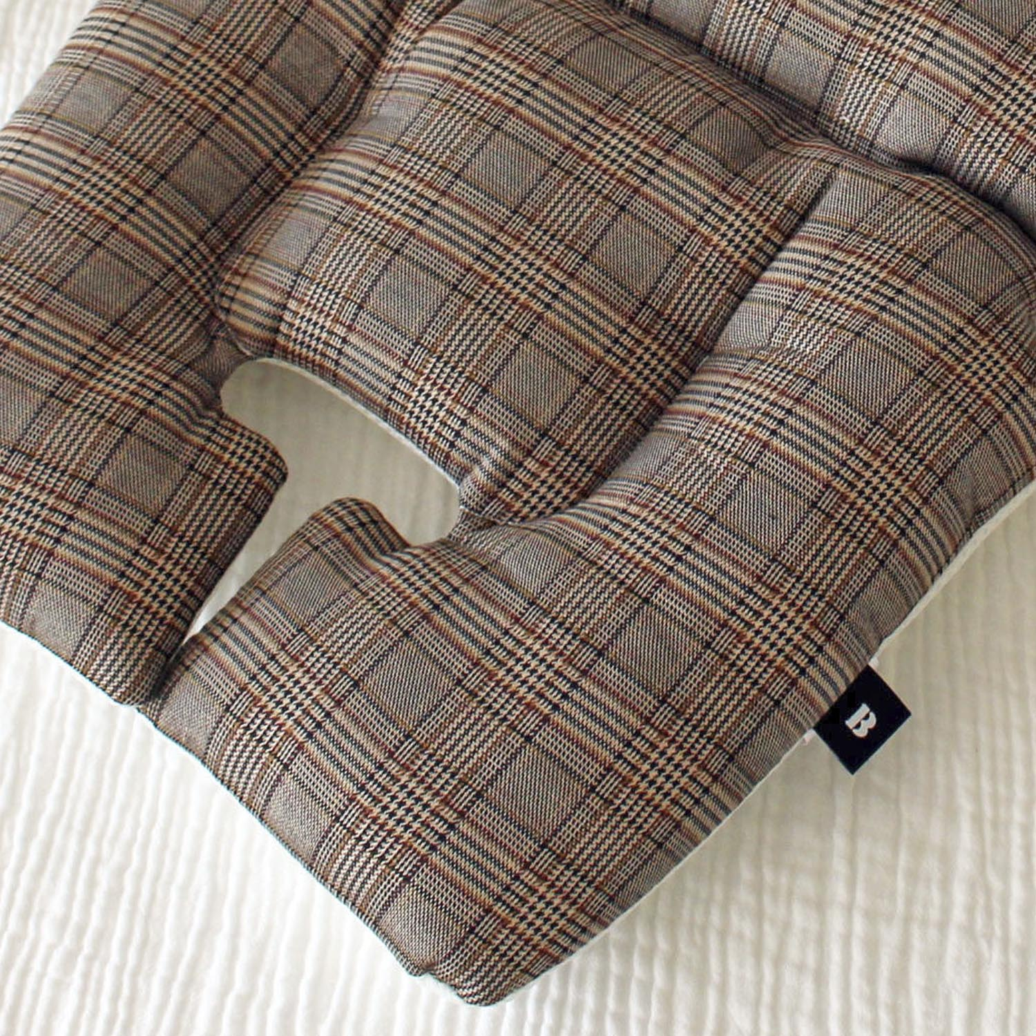 Premium-Liner_Glen check-brown