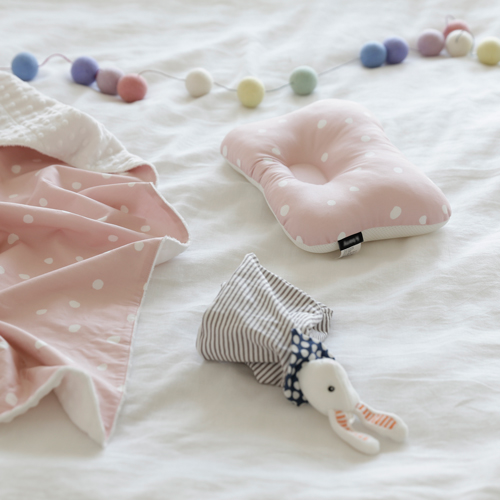 Baby Pillow / Mary Dot -Pink
