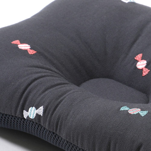 Baby Pillow /Premium_Embroied Candy-Gray