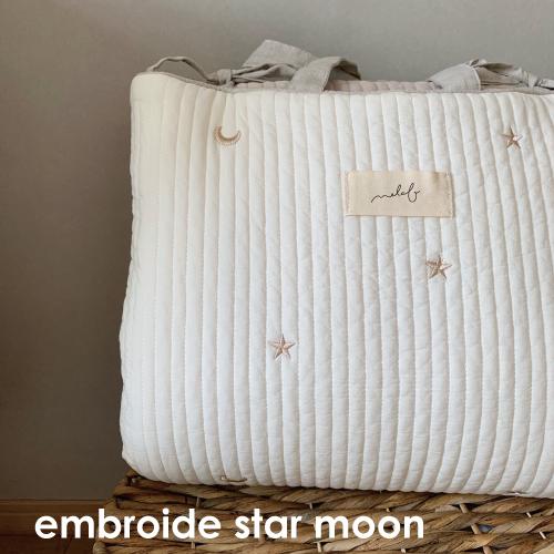 Napmat Embroide Star&Moon