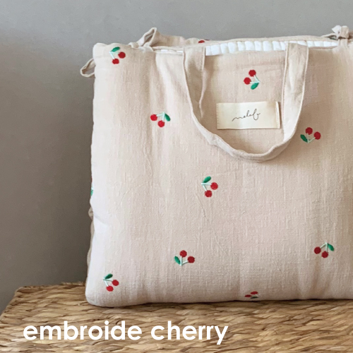 Napmat Embroide Cherry