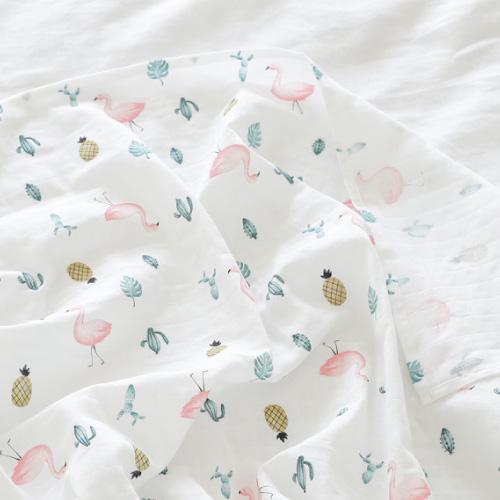 Premium Gaze Blanket /   Flamingo