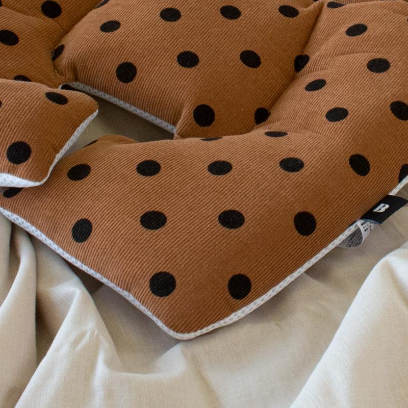 Designers Line / Corduroy Dot-Brown