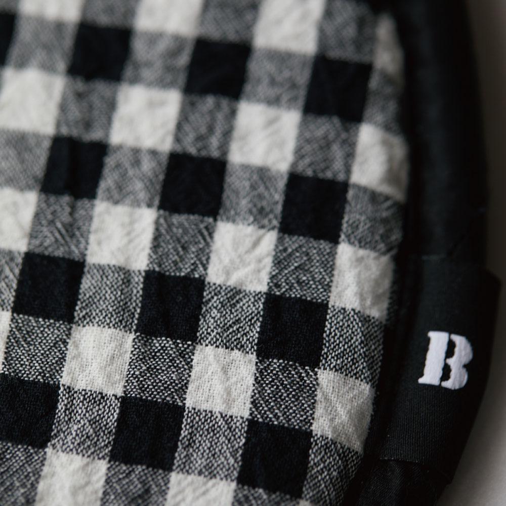 Premium Air_Comfort Linen-Check Black