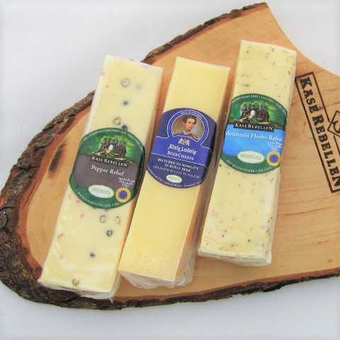 WEB限定ドイツアルプスチーズ3種食べ比べセット