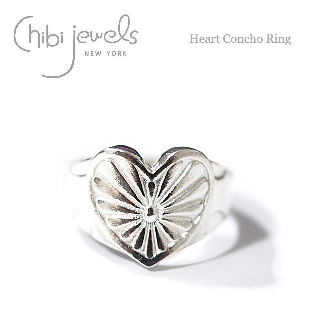 ハートコンチョ リング Heart Concho Ring (Silver)