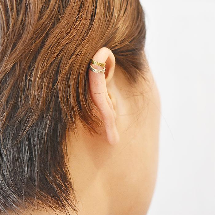 インディアン シルバーイヤーカフ Indian Ear Cuffs(Silver)