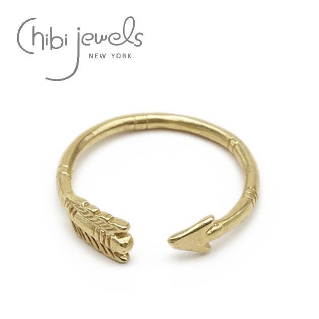 ネイティブ アロー ゴールド イヤーカフ リング Arrow Ring (Gold)