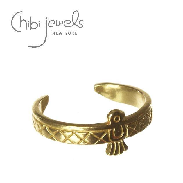 ネイティブ バード C型 ゴールド リング Native Bird Ring (Gold)