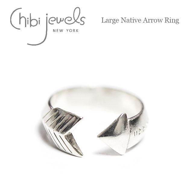アロー バンド シルバー C型 リング Large Native Arrow Ring (Silver)