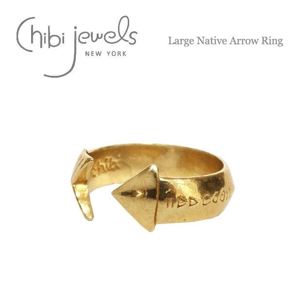 アロー バンド ゴールド C型 リング Large Native Arrow Ring (Gold)