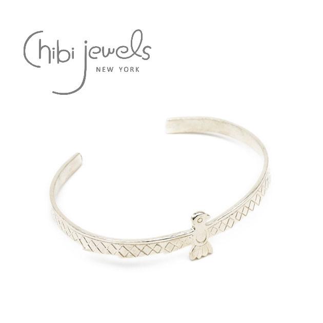 ネイティブ バード C型 シルバー バングル Native Bird Cuff (Silver)