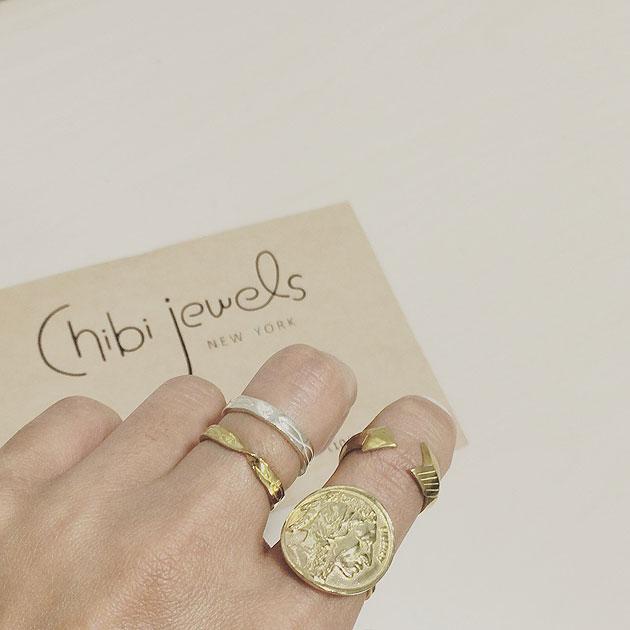 ネイティブ ツイスト ゴールド リング Native Twist Ring (Gold)