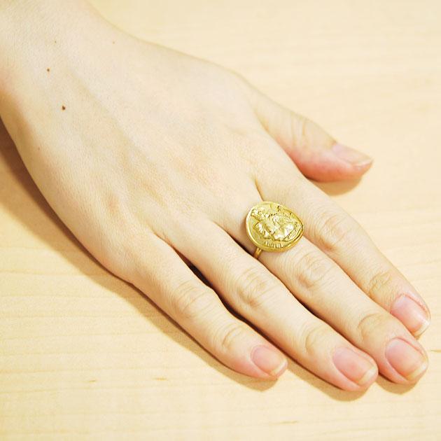 ネイティブ コイン ゴールド リング Native Coin Ring (Gold)