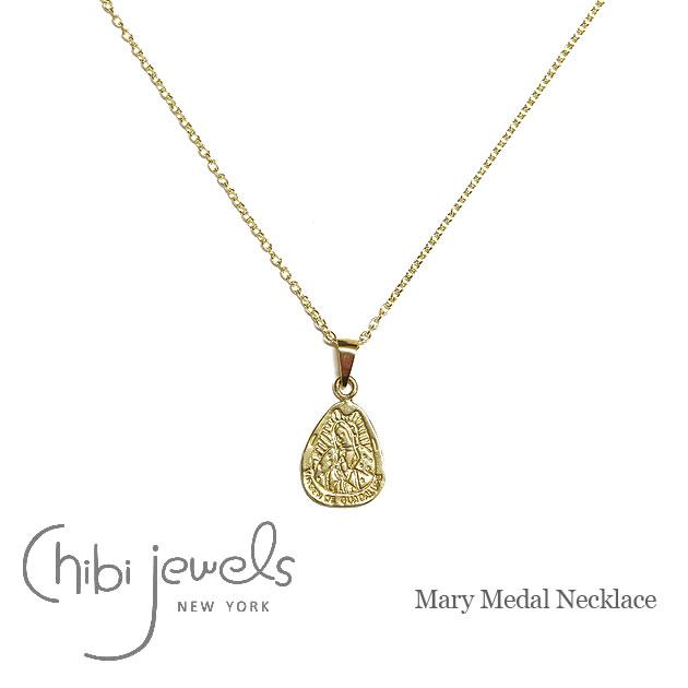 グアラルーペの聖母 ゴールドメダル ネックレス Mary Medal Necklace (Gold)