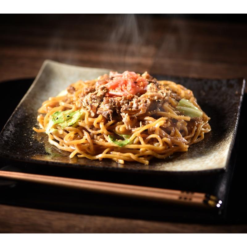 吉野家×富士宮やきそば 牛肉やきそば(2食入り)