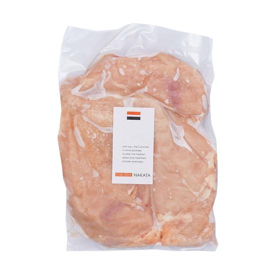 【訳あり】 国産 鶏肉 紀州うめどり むね肉 3kg 冷凍 業務用 (和歌山県産 銘柄鶏 鶏ムネ肉)【紀の国みかん鶏での代用出荷】