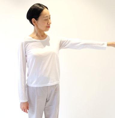 超長綿Tシャツ(長袖)