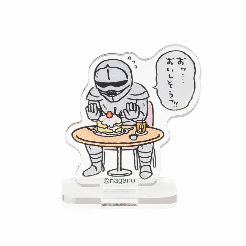ちいかわカフェ トレーディングアクリルスタンド(全16種)【単品】【1会計 10個まで】