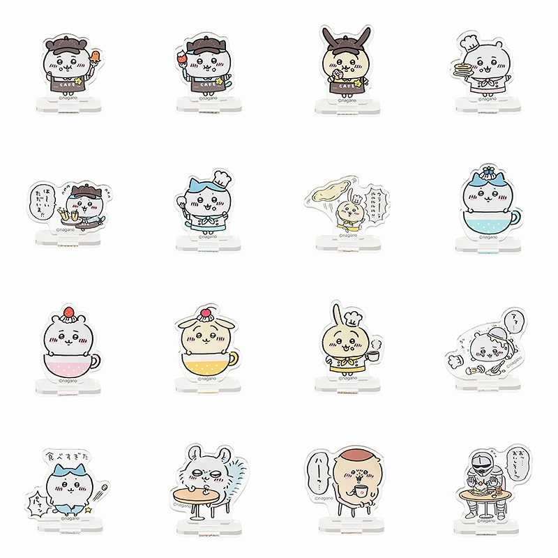 ちいかわカフェ トレーディングアクリルスタンド(全16種)【BOX】【1会計 2個まで】