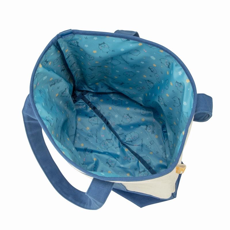 ちいかわ 刺繍なキャンバストートバッグ