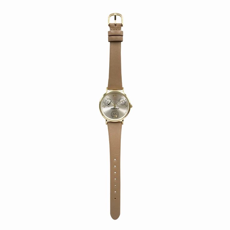 【予約終了】ちいかわ デザイン腕時計 BE【9月中旬より順次発送予定】【クレジットカード決済のみ可】【通常商品と同時購入・配送希望日指定不可】【キャンペーン対象外】