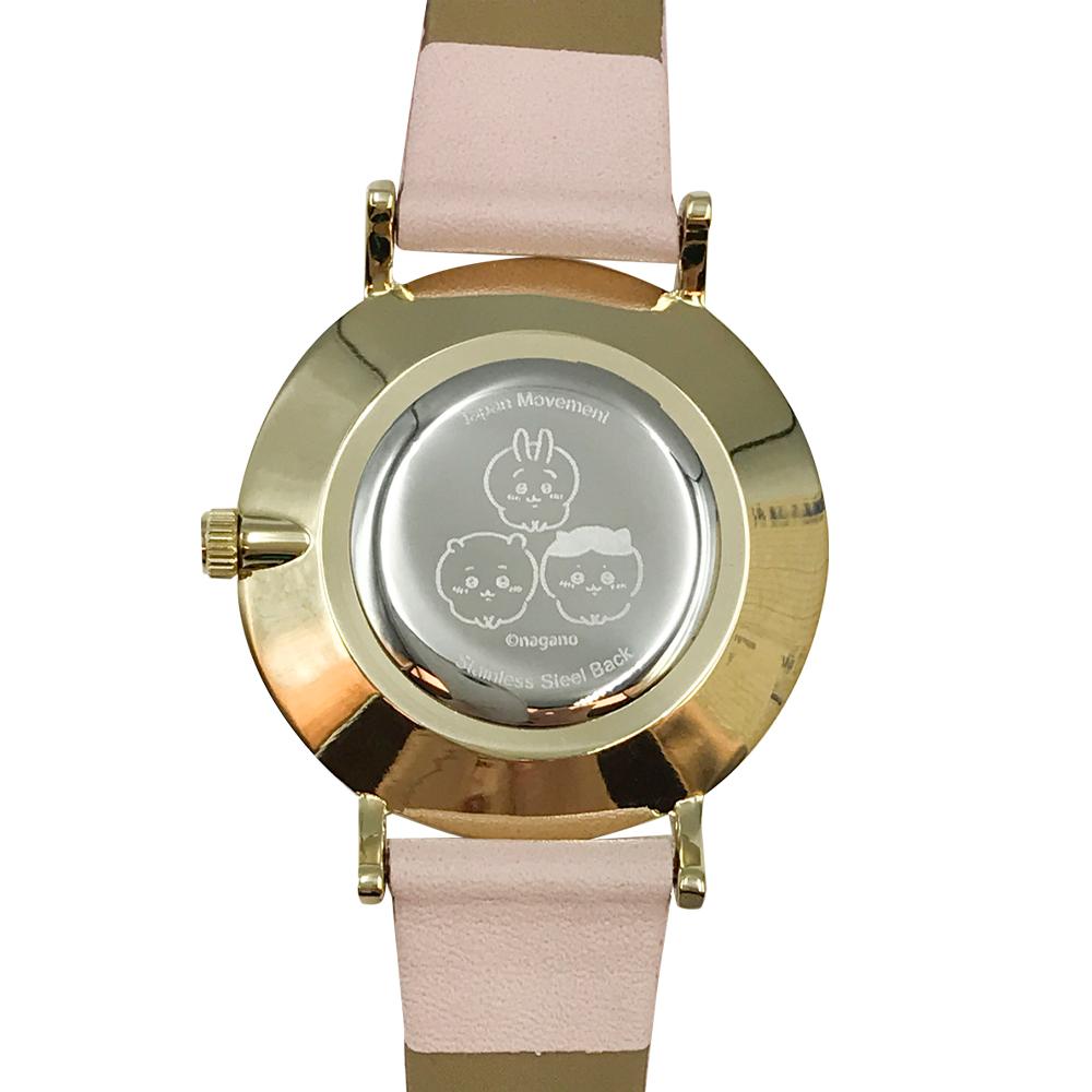 【予約終了】ちいかわ デザイン腕時計 PK【9月中旬より順次発送予定】【クレジットカード決済のみ可】【通常商品と同時購入・配送希望日指定不可】【キャンペーン対象外】