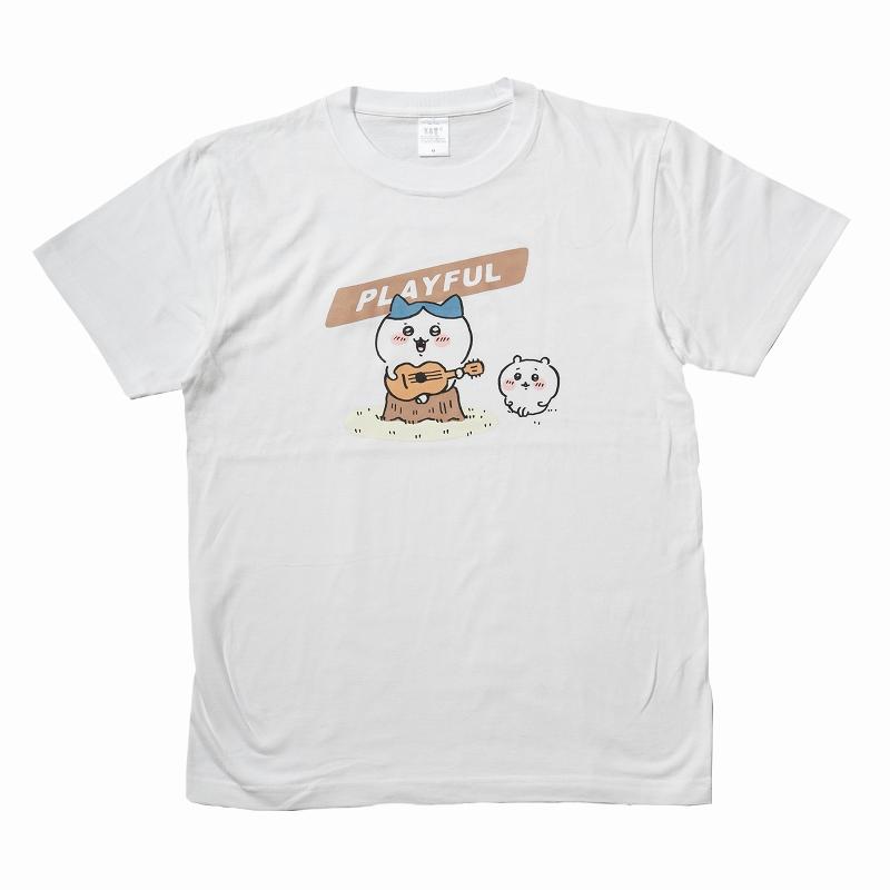 ちいかわ PLAYFUL Tシャツ ホワイト
