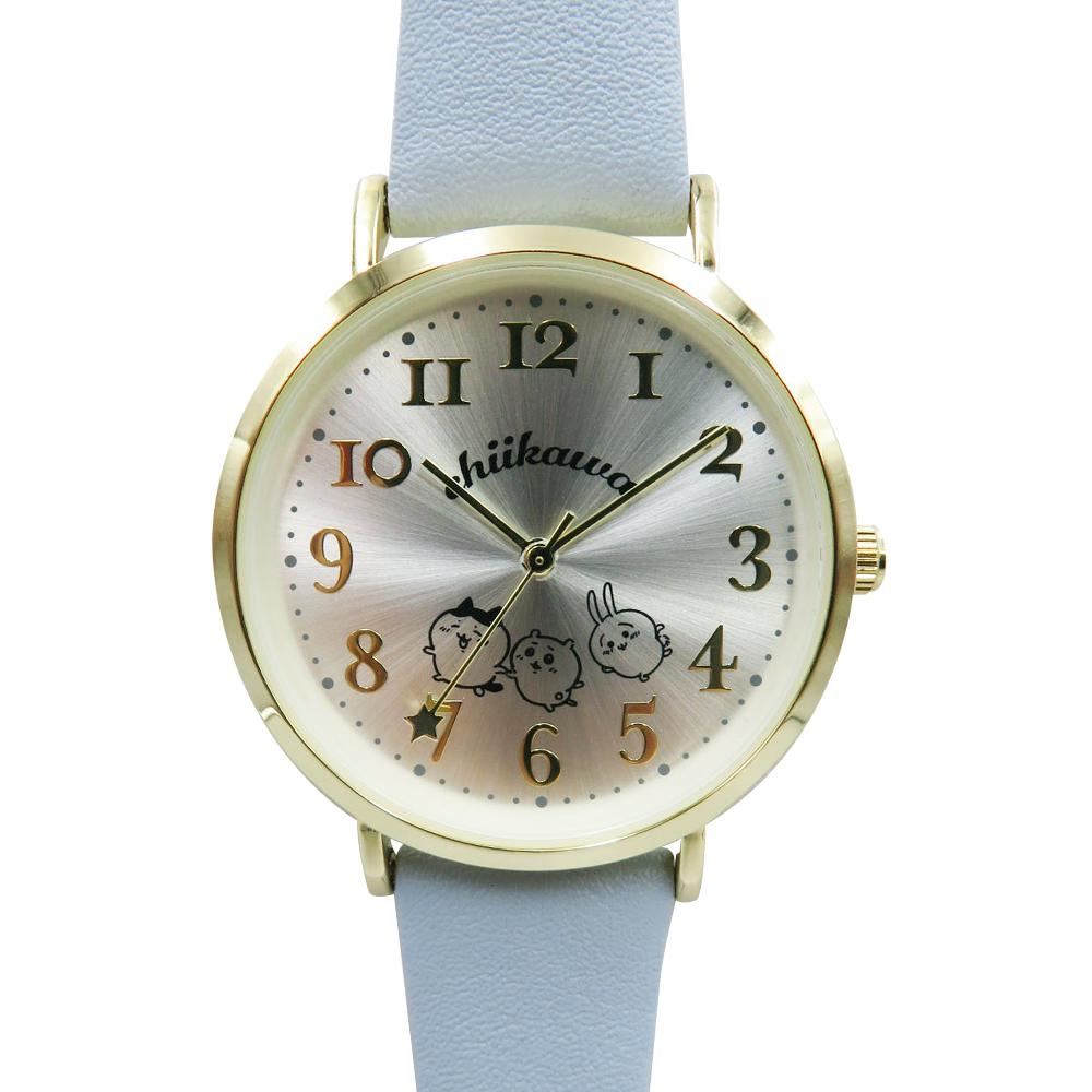 【予約終了】ちいかわ デザイン腕時計 BL【9月中旬より順次発送予定】【クレジットカード決済のみ可】【通常商品と同時購入・配送希望日指定不可】【キャンペーン対象外】