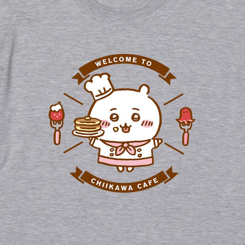 ちいかわ Cafe Tシャツ ウェルカム アッシュ【1会計 各サイズ2点まで】