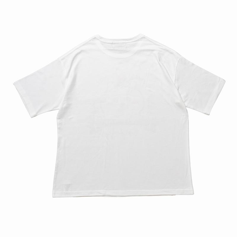 ちいかわ Cafe ビックTシャツ スイーツ ホワイト【1会計 各サイズ2点まで】