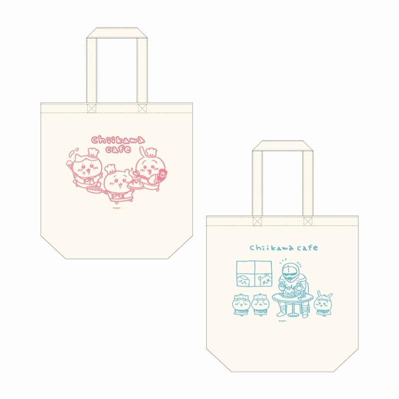 ちいかわカフェ コットントート(A)ピンク【1会計 2個まで】
