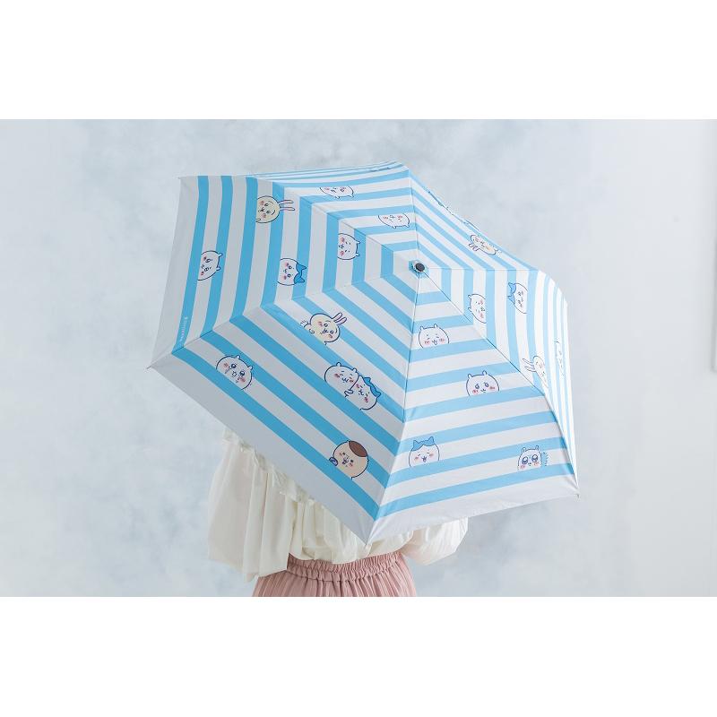 ちいかわ 折りたたみ傘(ボーダー)