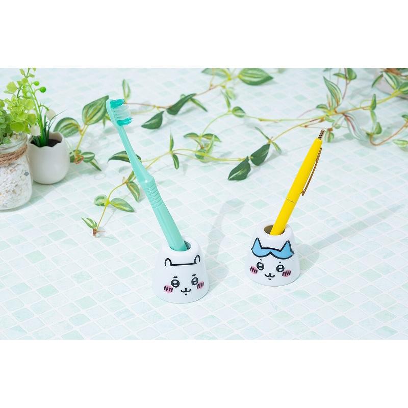 ちいかわ ペン&歯ブラシスタンド(ハチワレ)