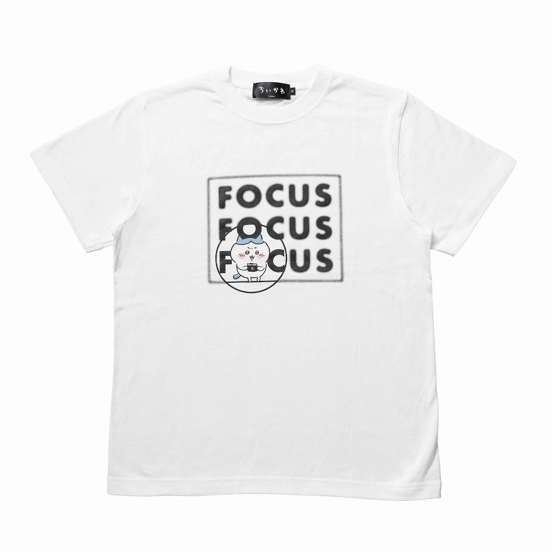 ちいかわ フォーカス Tシャツ(ホワイト)