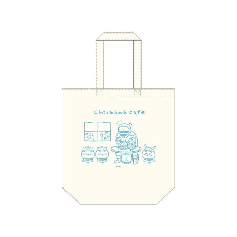 ちいかわカフェ コットントート(B)ブルー【1会計 2個まで】