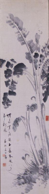 ア-0028 浅井 柳塘 ≪草花≫
