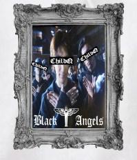 Black angels Artwork Parker White