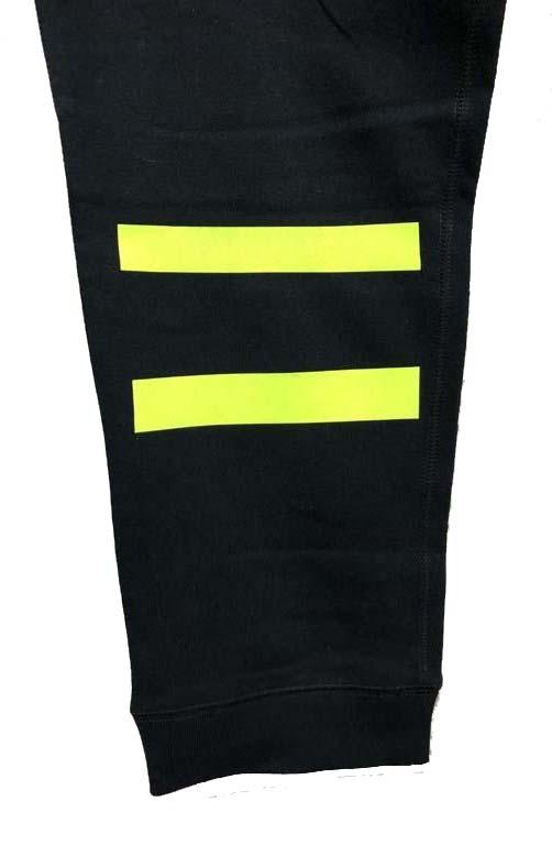 Lime Yellow Line pants