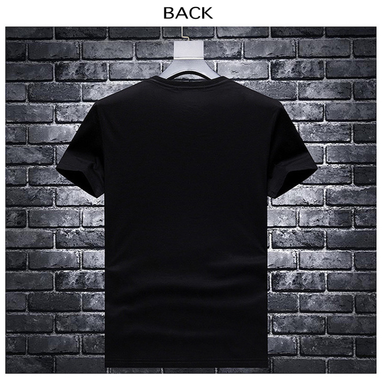 Silhouette Skull Swarovski T-shirt